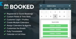 Booked Appointments – Appointment Booking for WordPress