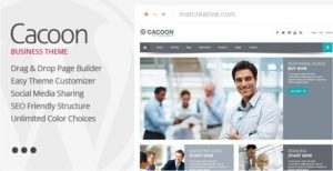 Cacoon – Responsive Business WordPress Theme