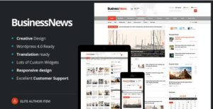 Business News – Responsive Magazine News Blog