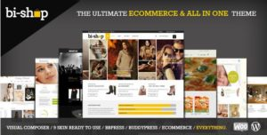 Bi-Shop All In One – Ecommerce & Corporate Theme