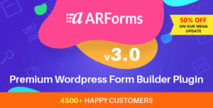 ARForms v3.0 - Wordpress Form Builder Plugin